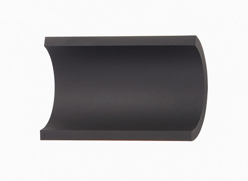 ET2 Alumilux: Diverge LED Outdoor Wall Sconce in Bronze