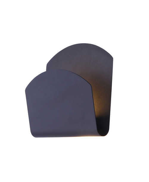 ET2 Alumilux: Lapel LED Outdoor Wall Sconce in Bronze