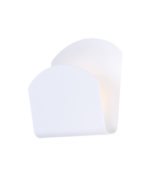 ET2 Alumilux: Lapel LED Outdoor Wall Sconce in White
