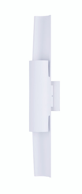 ET2 Alumilux: Runway LED Outdoor Wall Sconce in White
