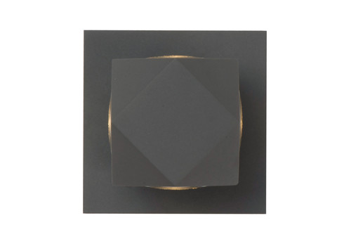 ET2 Alumilux: Elemental LED Outdoor Wall Sconce in Bronze