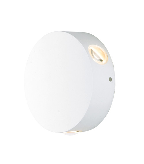 ET2 Alumilux: Glint LED Outdoor Wall Sconce in White
