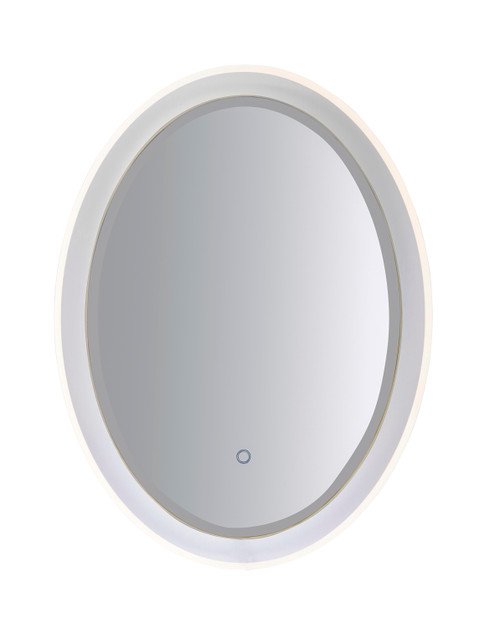 "ET2 24"" x 31.5"" Oval LED Mirror in NA"