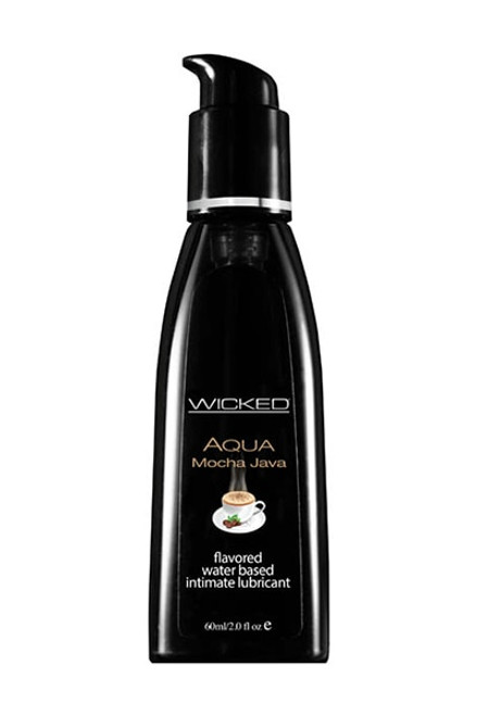 Wicked AQUA MOCHA JAVA Flavoured Lube - 120ml