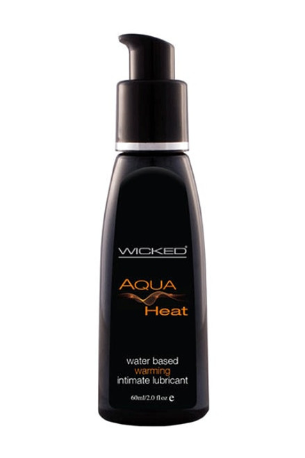 Wicked AQUA HEAT Water Based Warming Lube - 60ml
