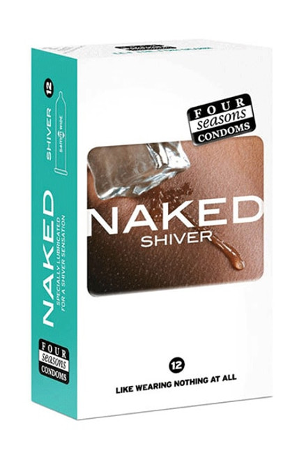 Naked Shiver Condom 12's