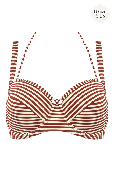 Balcony Bra D+ HV (RED)