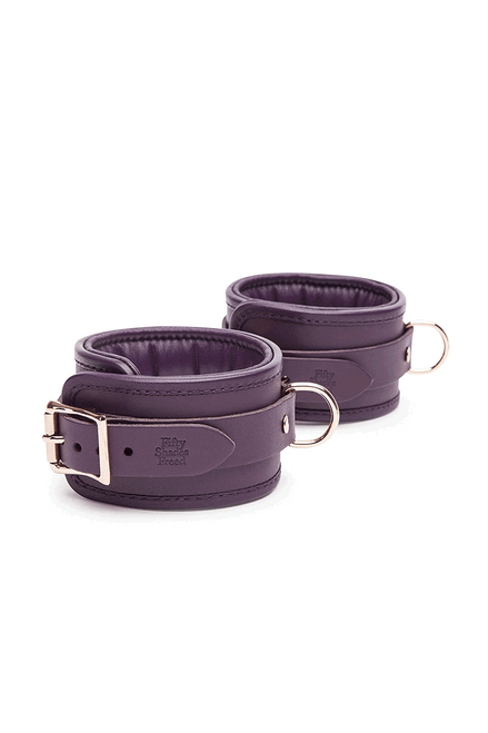 Cherished Collection Leather Ankle Cuffs