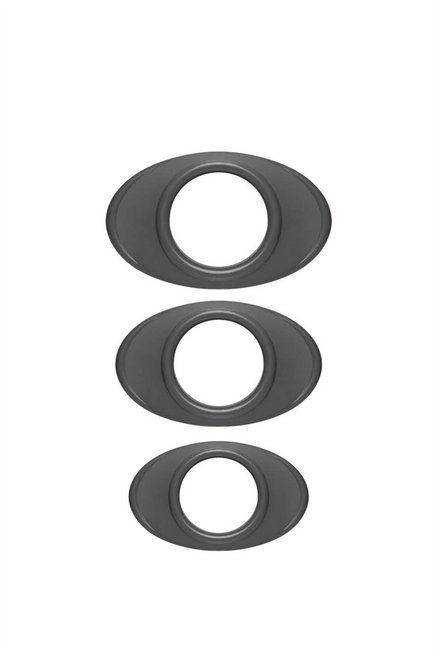 OPTIMALE - EASY-GRIP C-RING SET SLATE