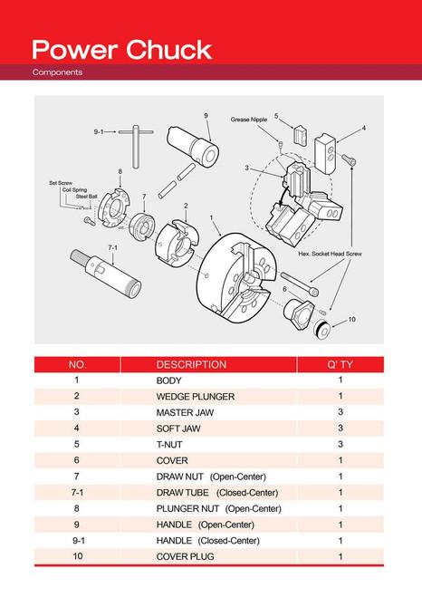 Plunger Nut: HS-10