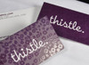 Business Card Silk Laminated w/ Spot UV 16 pts Full Color Square Corners
