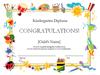 Diploma de Kindergarten