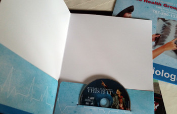 Folder with insert