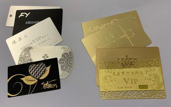 Tarjetas Metalicas VIP