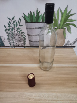 Botella de Vino 750 ML Puerto Rico