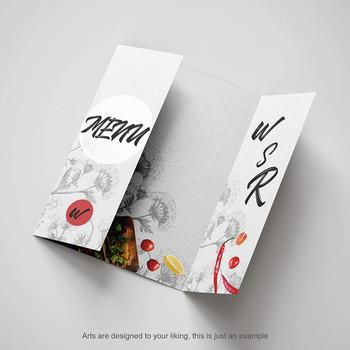 Brochure 8.5 x 11 en 100 Libras Dull Cover Cartulina Entrega gratis Puerto Rico