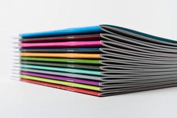 Catalago 8.5 x 11 Full Color Grapado al lomo