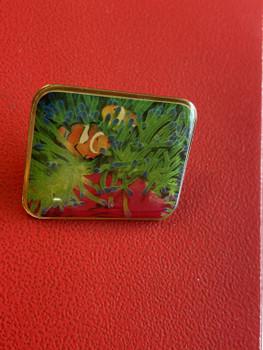"""Lapel Pins 1.5"""" Domed photo pin"""