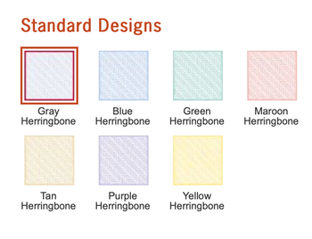 Colores Standard para cheques.