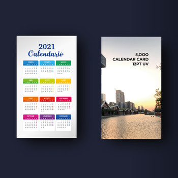 Calendario 2021 Puerto Rico Entrega gratis Free shipping | Full Color PR