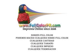 6x9 Sobre Fullcolorpr.com
