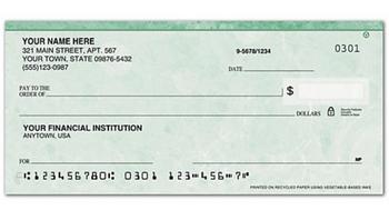 Cheques de negocio tamaño personal Puerto Rico