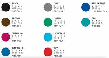 10 Colores de Relieve para Tarjetas de Hilo Entrega Gratis Puerto Rico