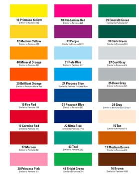 Colores Standard. Los colores pueden variar debido al monitor de su computadora.  Tambien esta disponible el negro, blanco y reflex blue.