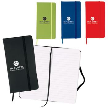 """Libretas 3.5"""" x 6.5"""" 60 Hojas Cover Soft PVC Banda Elastica"""
