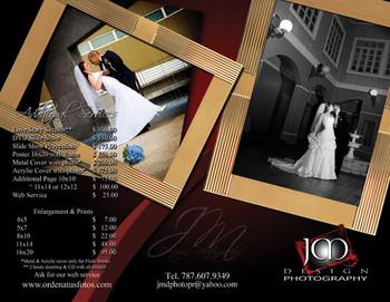 1000 Brochure 11x17 Full Color 14 Points UV Coated Entrega Gratis todo Puerto Rico