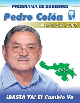 Pedro Colon Alcalde de Ceiba Puerto Rico