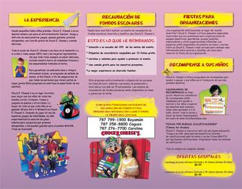 Brochure Full Color Ecelente Calidad a un precio excelente, entrega GRATIS para Puerto Rico.