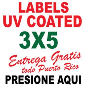 3x5 Labels Full Color