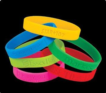 Brazaletes Promocionales/  Wristbands Puerto Rico