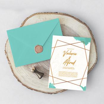 Invitaciones 5x7 Full Color Entrega Gratis Puerto Rico