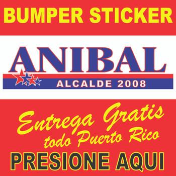 Bumper Sticker • Alcalde Fajardo Puerto RIco