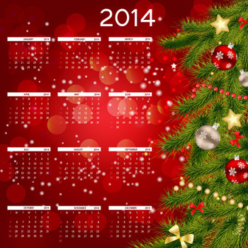 Calendario 8.5 x 7 Full Color 16pts UV Coated