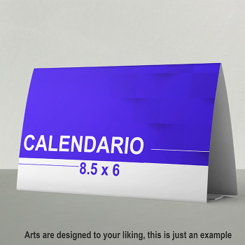 Calendarios 8.5  x 6 Full Color Entrega Gratis