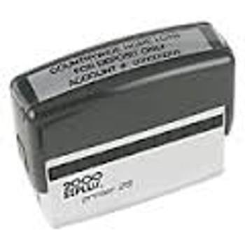 Sello de Goma 2000 Plus P25 Recomendado para Firmas