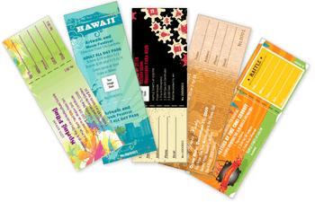 Ejemplo Taquillas Full Color para Eventos