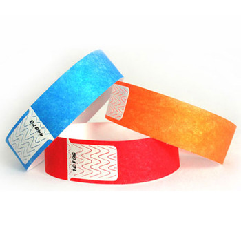Pulseras Impermeables en colores solidos.