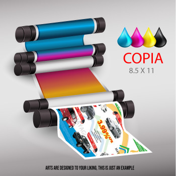 Copias 8.5 X 11 Ambos Lados  Full Color Entrega Gratis