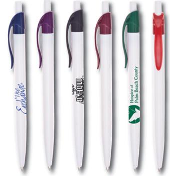 Boligrafo Plastico Oak Pen Blanco (Colores no necesariamente idénticos a los ilustrados)