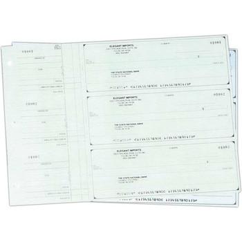 Cheques Comerciales Manuales Tres por Pagina