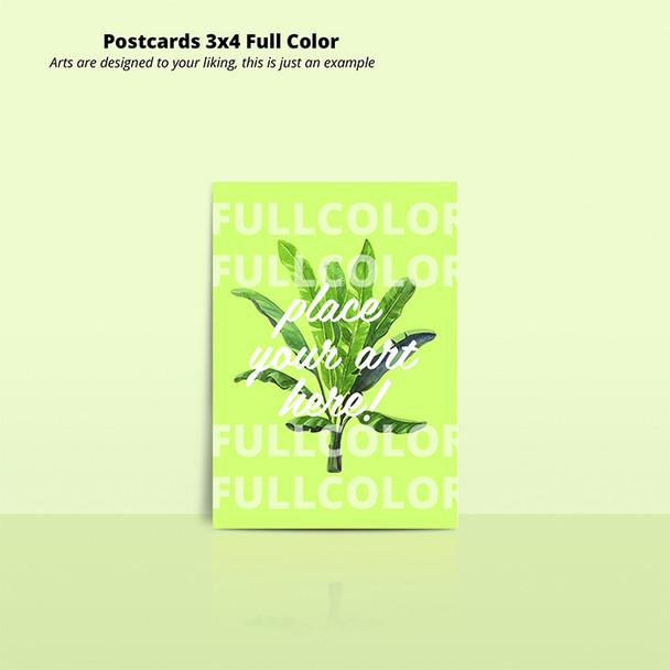 Postcards 3x4 Full Color 16 Pts Entrega Gratis Puerto Rico