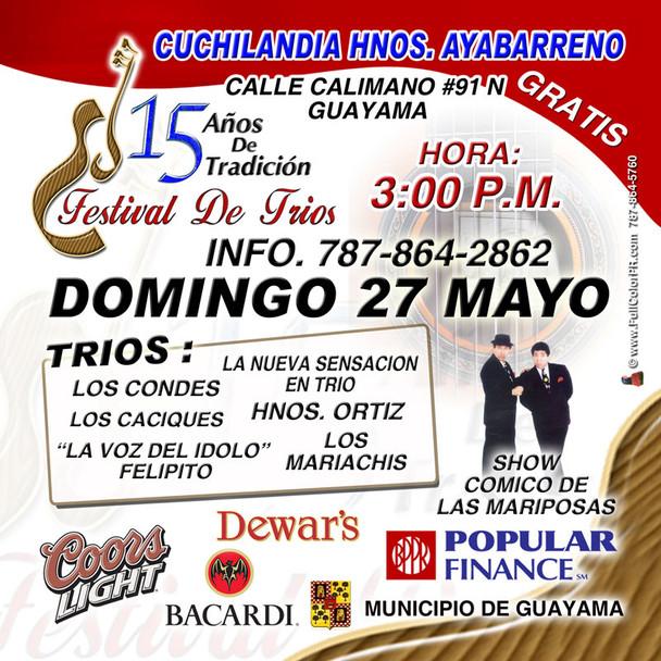 Guayama Puerto Rico, Ejemplo de Fiesta de Pueblo en Puerto Rico