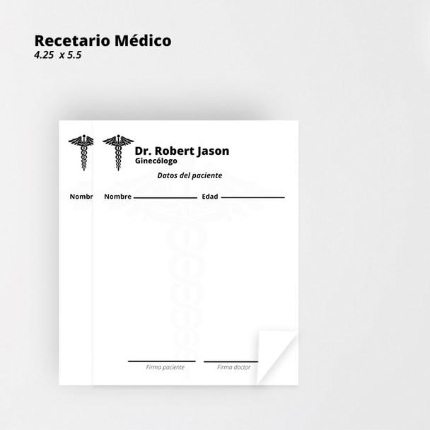 Recetario Medico Puerto Rico