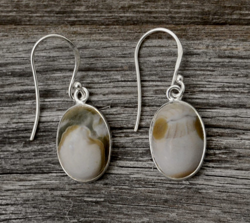 Leave Them Crying With These Tear Drop Agate Earrings