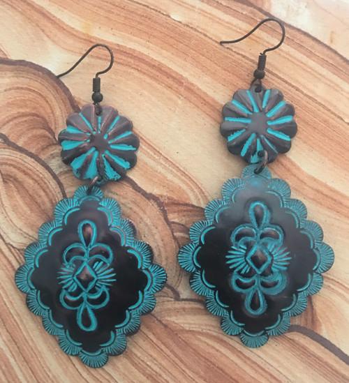 Boho Patina Earrings