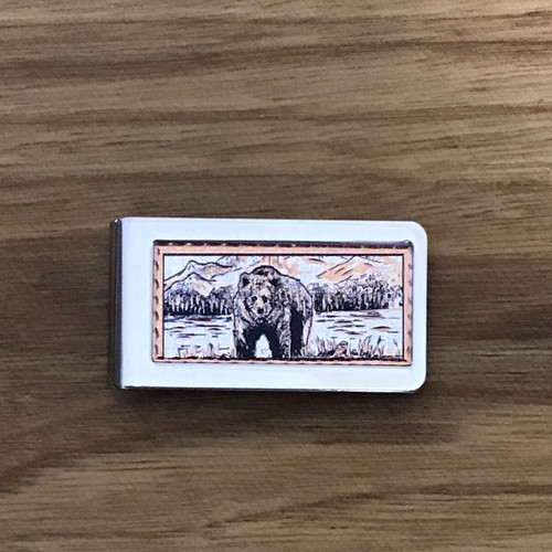 Bear Money Clip